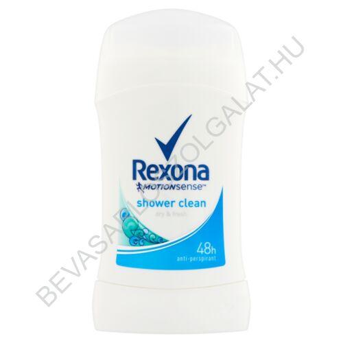 Rexona Deostift 48h MotinSense Shower Clean 40 ml