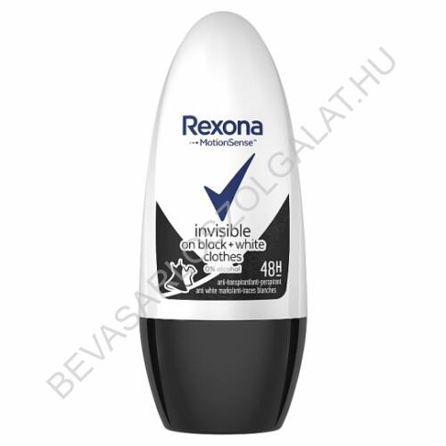 Rexona Roll-On 48h Invisible On Black + White Clothes 50 ml