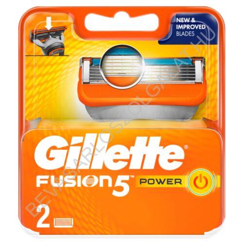 Gillette Fusion5 Power Borotvabetét 2 db