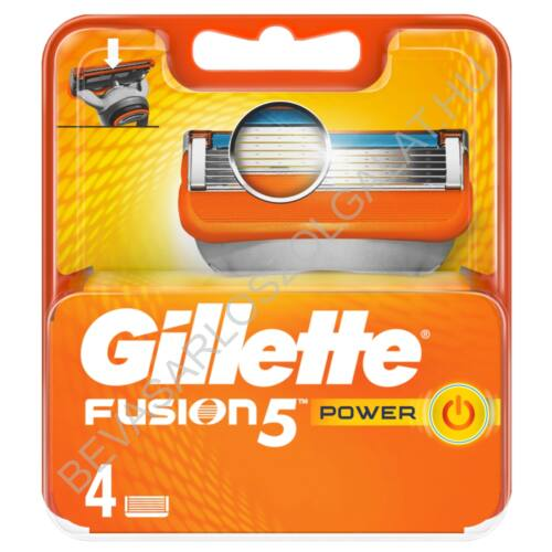 Gillette Fusion5 Power Borotvabetét 4 db