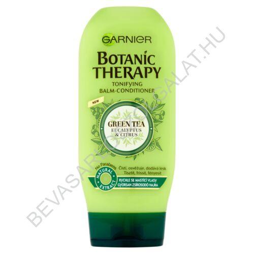 Garnier Botanic Therapy Green Tea Eucalyptus & Citrus hajbalzsam gyorsan zsírosodó hajra 200 ml