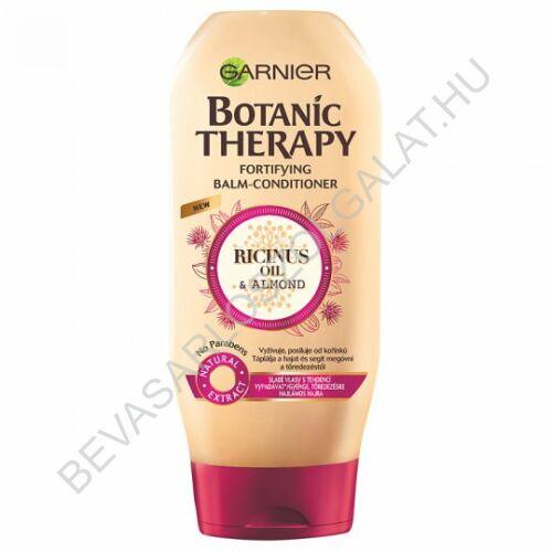 Garnier Botanic Therapy Ricinus Oil & Almond hajbalzsam gyenge, töredezésre hajlamos hajra 200 ml