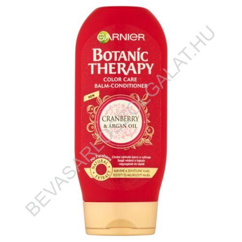 Garnier Botanic Therapy Cranberry & Argan Oil hajbalzsam festett és melírozott hajra 200 ml