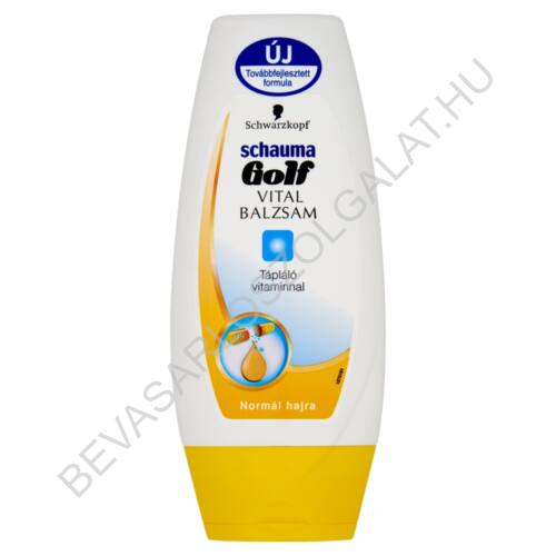 Schwarzkopf Schauma Golf Vital Balzsam Normál Hajra 200 ml