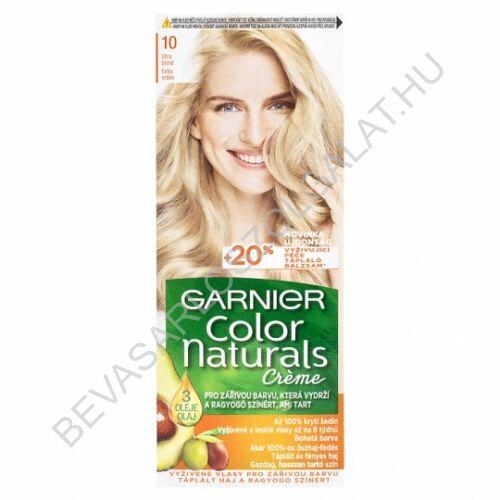 Garnier Color Naturals Créme Extra Szőke Hajfesték (10)