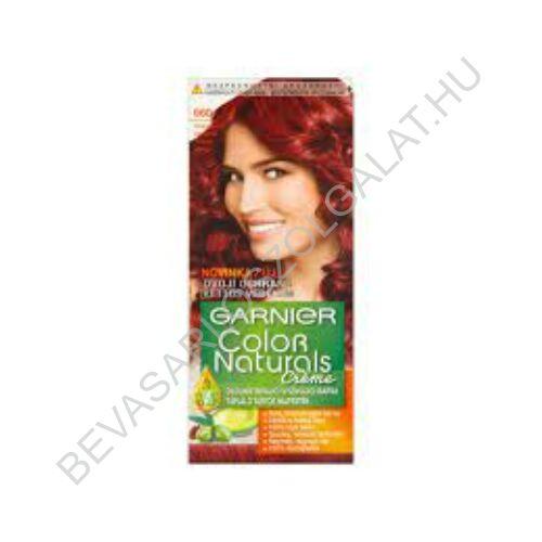 Garnier Color Naturals Créme Intenziv Vörös Hajfesték (660)