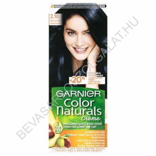 Garnier Color Naturals Créme Kékesfekete Hajfesték (2.10)