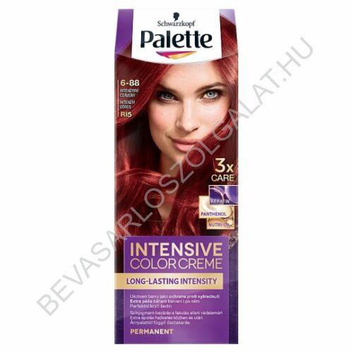 Schwarzkopf Palette Intensive Color Creme Intenzív Vörös Hajfesték 6-88 (R15)