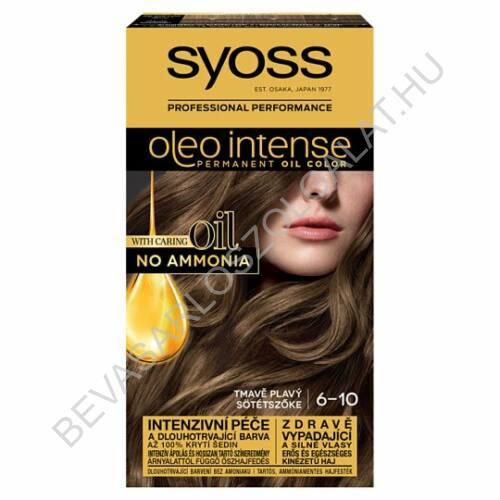Syoss Oleo Intense Hajfesték 6-10 Sötétszőke