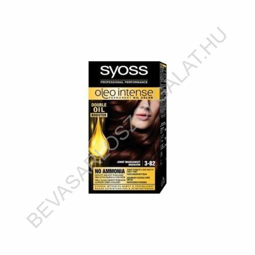 Syoss Oleo Intense Hajfesték 3-82 Mahagóni