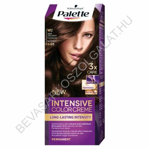 Schwarzkopf Palette Intensive Color Creme Étcsokoládé Hajfesték 3-65 (W2)
