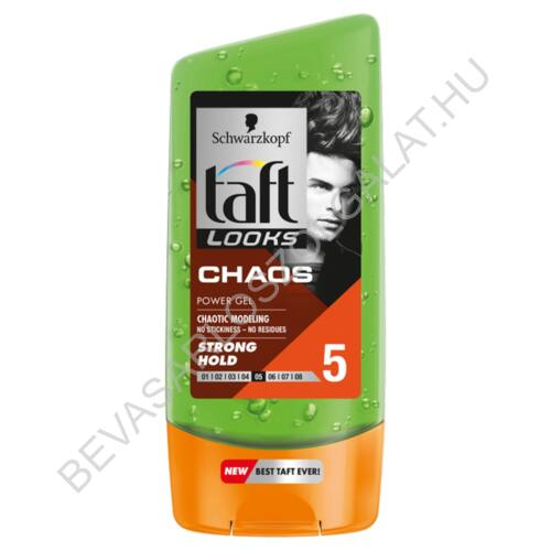 Schwarzkopf Taft Looks Hajzselé Chaos Strong Hold 150 ml