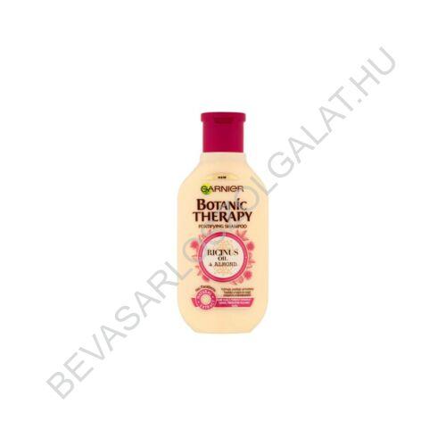 Garnier Botanic Therapy Ricinus Oil & Almond Sampon Gyenge, Töredezésre Hajlamos Hajra 250 ml