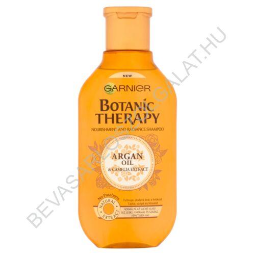Garnier Botanic Therapy Argan Oil & Camelia Extract Sampon Normál és Száraz, Fénytelen Hajra 250 ml