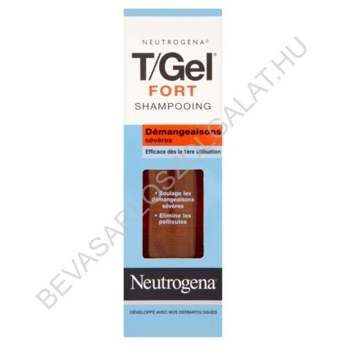 Neutrogena T/Gel Fort Korpásodás Elleni Sampon 125 ml