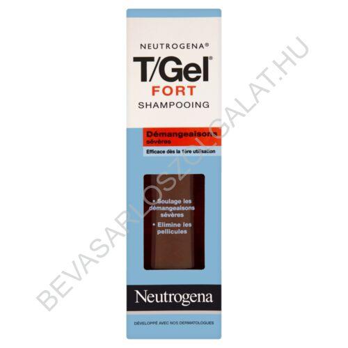 Neutrogena T/Gel Fort Korpásodás Elleni Sampon 250ml