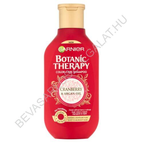 Garnier Botanic Therapy Cranberry & Argan Oil Sampon Festett és Melírozott Hajra 250 ml