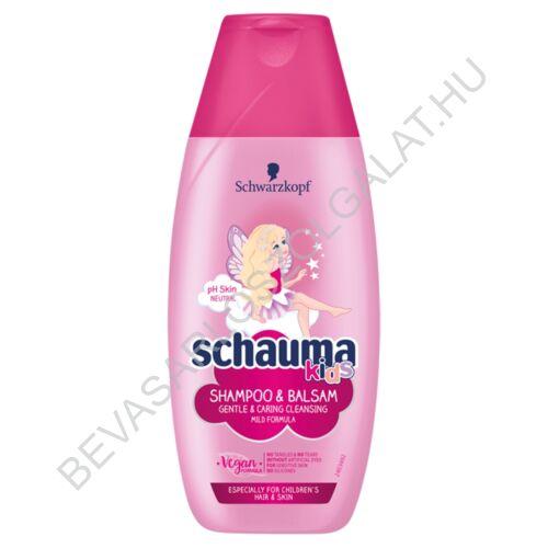 Schauma Kids Sampon & Balzsam Lányoknak 250 ml