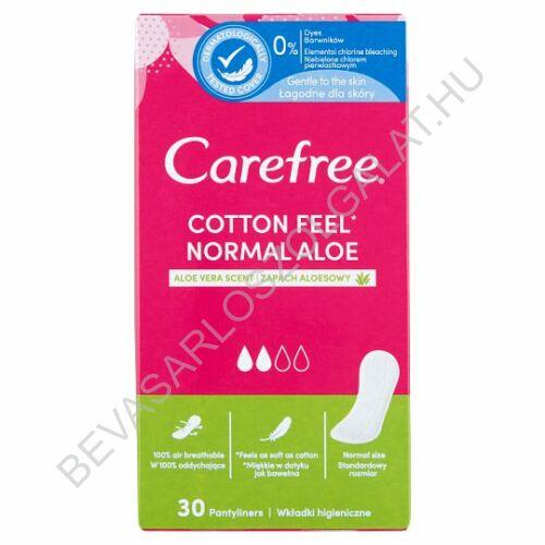 Carefree Cotton Aloe tisztasági betét 30 db