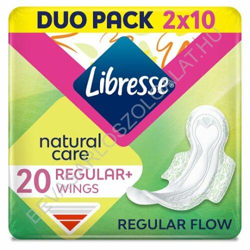 Libresse Natural Care Normal Egészségügyi Betét 2x10 db