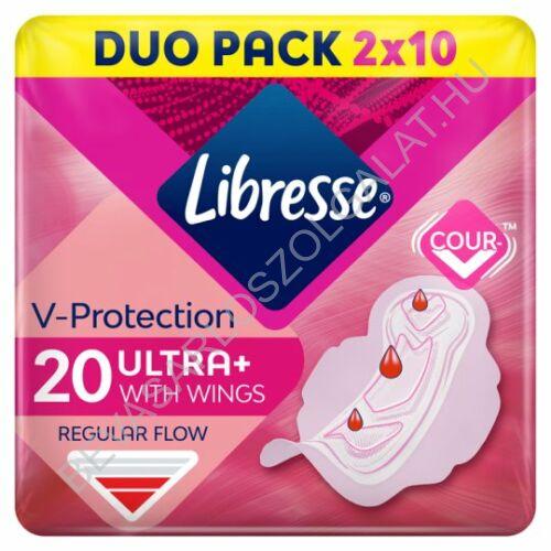 Libresse Ultra Thin Fresh Protect Egészségügyi Betét duopack 2x10 db