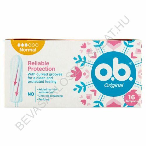 O.B. Tampon Original Normal 16 db