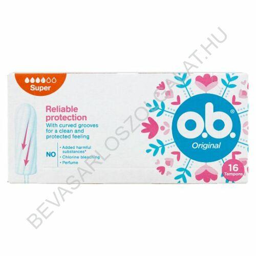 O.B. Tampon Original Super 16 db