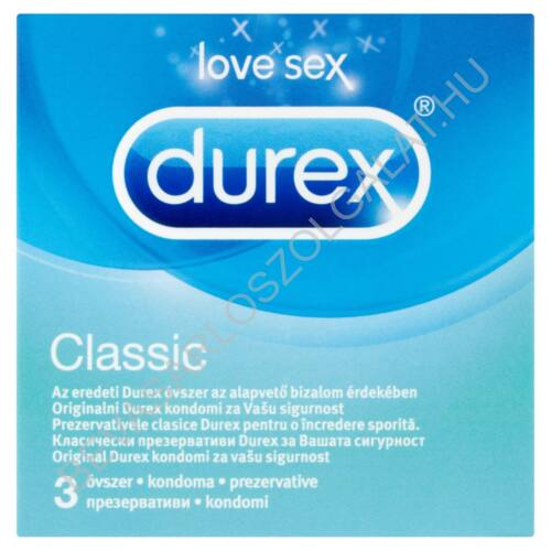 Durex Óvszer Classic 3 db