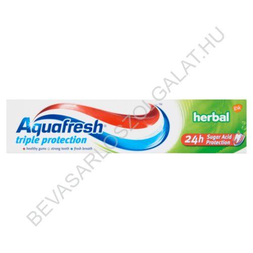 Aquafresh Triple Protection Herbal Fogkrém 100 ml (#12)