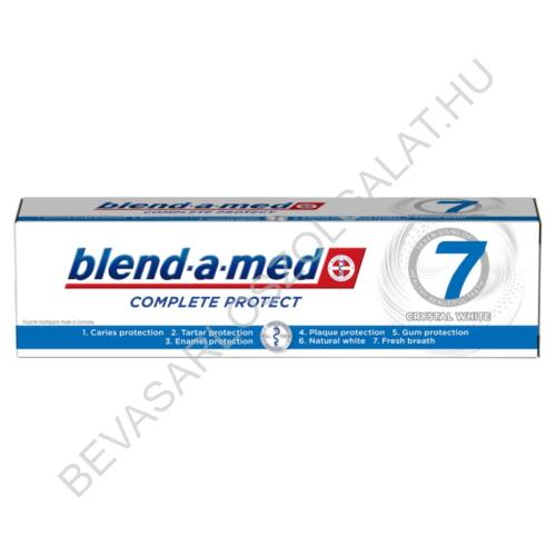 Blend-a-Med Complete Protect 7 Crystal White Fogkrém 100 ml