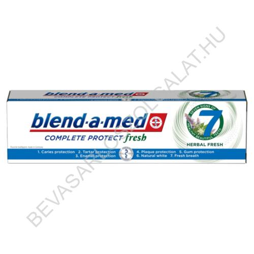 Blend-a-Med Complete Protect Fresh Herbal Fresh Fogkrém 100 ml