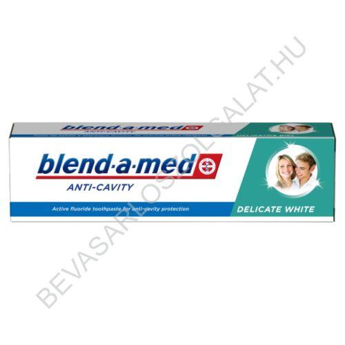 Blend-a-Med Anti-Cavity Delicate White Fogkrém 100 ml