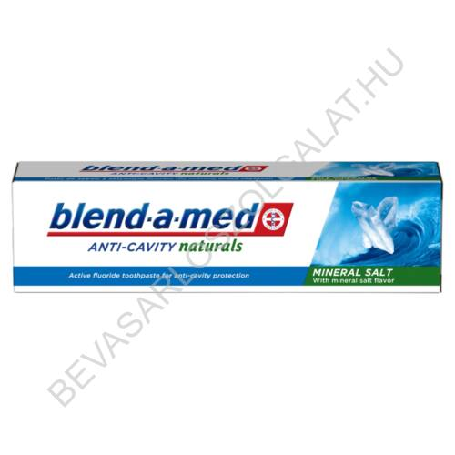 Blend-a-Med Anti-Cavity Naturals Mineral Salt Fogkrém 100 ml