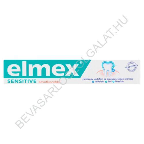 Elmex Sensitive Aminfluoriddal Fogkrém75 ml
