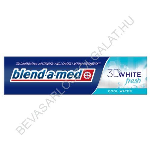 Blend-a-med 3D White Fresh Cool Water Fogkrém 100 ml