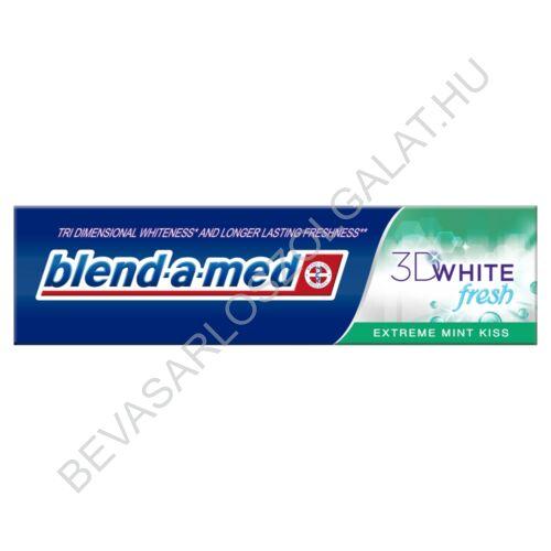 Blend-a-med 3D White Fresh Extreme Mint Kiss Fogkrém 100 ml