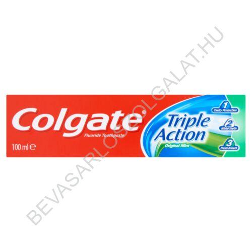 Colgate Triple Action Original Mint Fogkrém 100 ml
