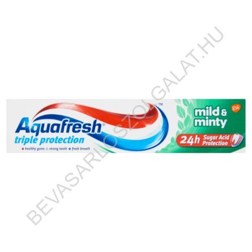Aquafresh Triple Protection Mild & Minty Fogkrém 100 ml (#12)