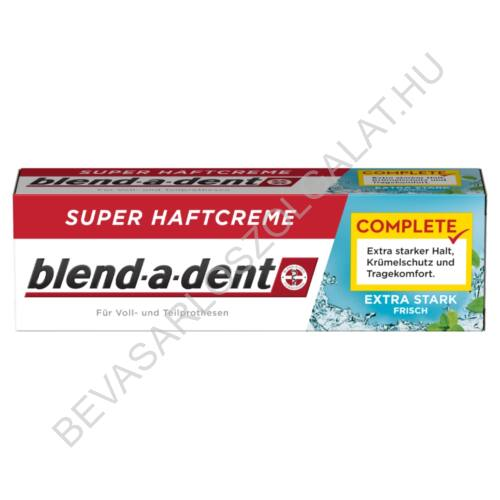 Blend-a dent Complete Extra Stark Frisch Műfogsorragasztó 47 g