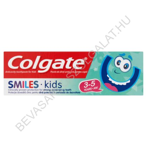 Colgate Smiles Kids Fogkrém  3-5 év közötti Gyerekeknek 50 ml