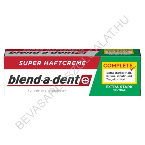Blend-a dent Complete Extra Stark Neutral Műfogsorragasztó 47 g