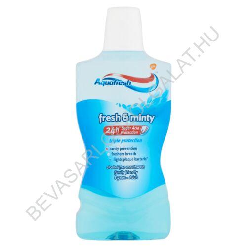 Aquafresh Fresh & Minty Szájvíz 500 ml