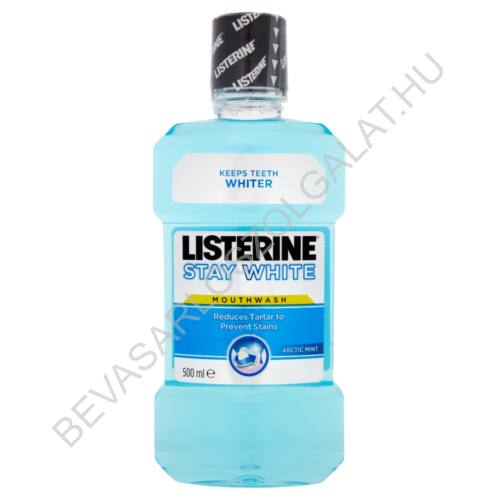 Listerine Stay White Arctic Mint Szájvíz 500 ml