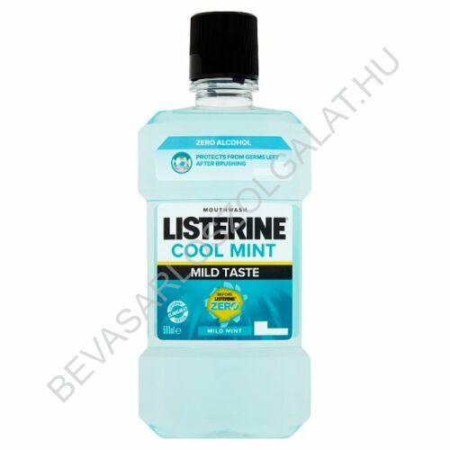 Listerine Szájvíz Cool Mint Mild Taste 500 ml