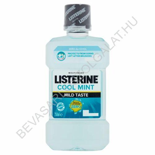 Listerine Zero Mild Mint Szájvíz 250 ml