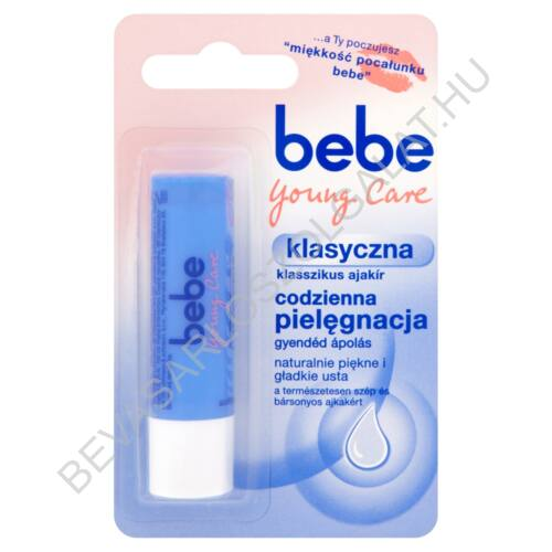 Bebe Young care Klasszikus Ajakír 4,9 g