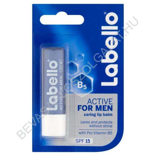 Labello Active For Men SPF 15 Ajakápoló 4,8 g