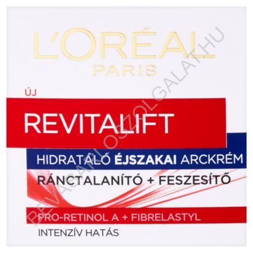 L'oréal Paris Revitalift Hidratáló Éjszakai Arckrém Ránctalanító + Feszesítő 50ml
