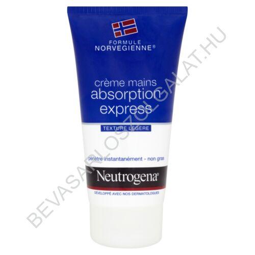 Neutrogena Gyorsan Felszívódó Kézkrém Norvég Formulával 75 ml