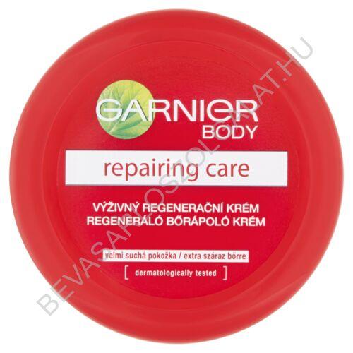 Garnier Repairing Care Regeneráló Bőrápoló Krém Extra Száraz Bőrre tégelyes 200 ml
